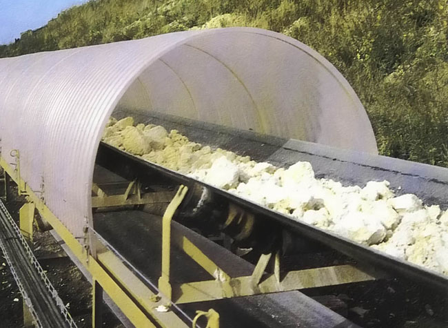 Conveyor Cover Rulmeca Rollers